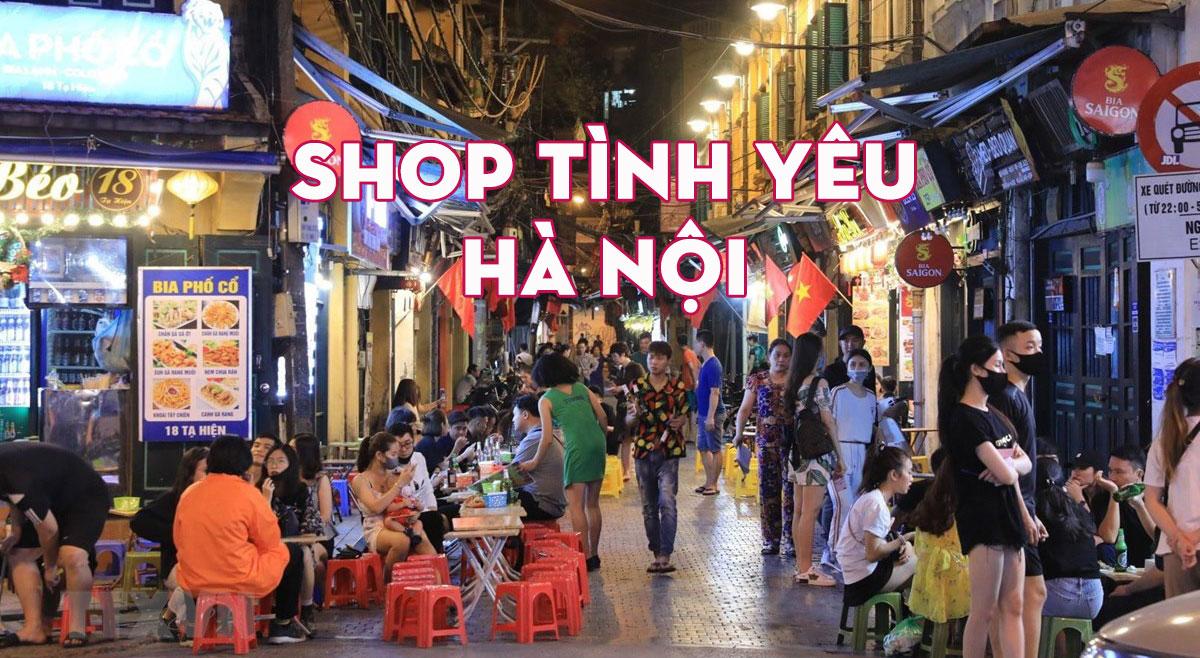 Shop Tình Yêu Hà Nội